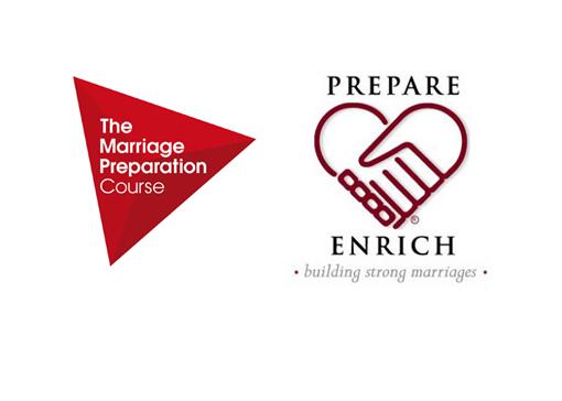 logo Marriage Prep e Prepare Enrich